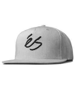 Es Script Snapback Grey/Heather