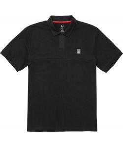 Es Split Black Men's Polo