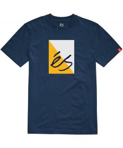 Es Split Block Navy Men's T-Shirt