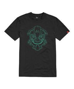 Es Tiki Black Ανδρικό T-Shirt