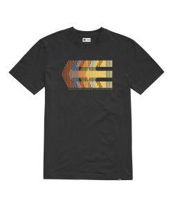 Etnies Afterburn Black Orange Men's T-Shirt