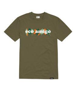 ETNIES AMIGO OLIVE T-SHIRT