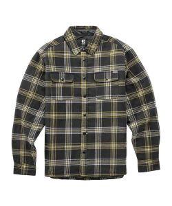 Etnies Backswitch Shirt Jacket Black Brown Ανδρικό Μπουφάν