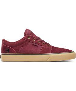 Etnies Barge Ls Burgundy/Tan Men's Shoes