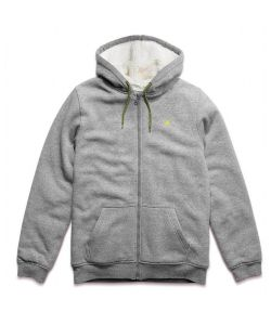 Etnies Classic Sherpa Grey/Heather Youth Zip Hoodie