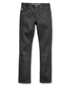 Etnies E1 Slim Denim Black Raw Men's Pants