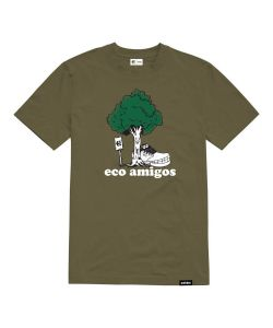 Etnies Eco Amigo Olive Men's T-Shirt