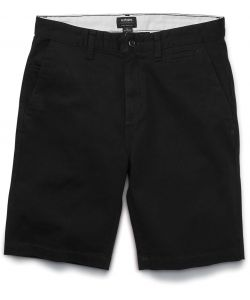 Etnies Essential Straight Slim Chino Black Men's Short