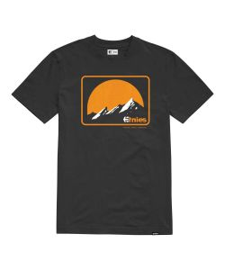 Etnies ETA MTN Black Orange Men's T-Shirt