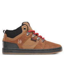 ETNIES HIGH RISE TAN KIDS SHOES