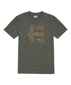 Etnies Icon Print Military Men's T-Shirt