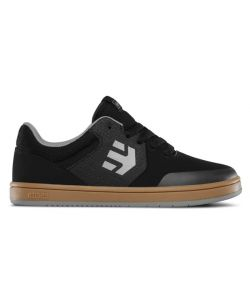 ETNIES MARANA BLACK/GUM/GREY KIDS SHOES