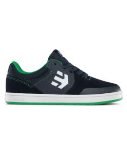 ETNIES MARANA BLUE/GREEN KIDS SHOES