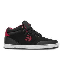 Etnies Marana Mid Crank Black/Red Men's Shoes
