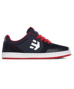 ETNIES MARANA NAVY/RED/WHITE KIDS SHOES