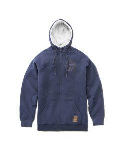 Etnies Parlay Sherpa Navy Men's Zip Hoodie