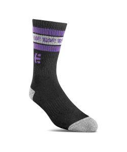 Etnies Rad Black Purple Κάλτσες