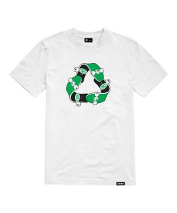 Etnies Recycle Sk8 White Men's T-Shirt