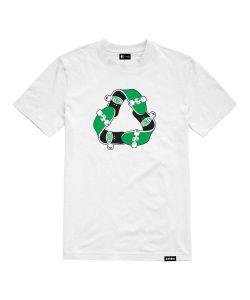 Etnies Recycle Sk8 White Ανδρικό T-Shirt