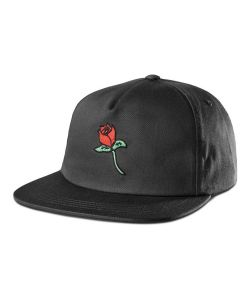 Etnies Rose Snapback Black Hat
