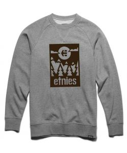 ETNIES SANO GREY HEATHER CREW ΦΟΥΤΕΡ