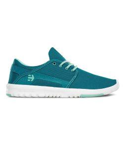 Etnies Scout Blue/White Women's Shoes