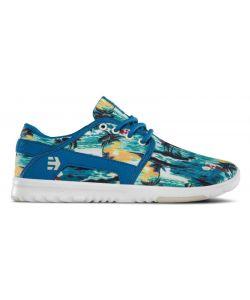 Etnies Scout Green/Blue Women's Shoes