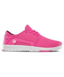 Etnies Scout Pink/White/Pink Women's Shoes