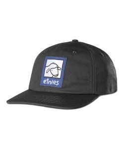 Etnies Sheep Snapback Black Hat