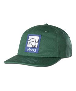 Etnies Sheep Snapback Green Hat