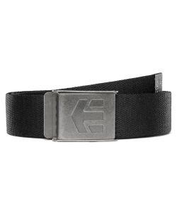 Etnies Staplez Black Grey Belt