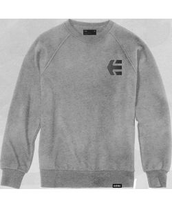 ETNIES TEAM CREW GREY HEATHER ΦΟΥΤΕΡ