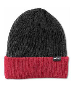 Etnies Warehouse Block Black/Red Beanie