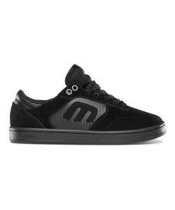 Etnies Windrow Black Black Gum Kid's Shoes