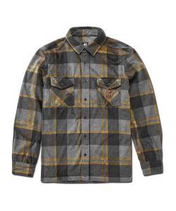 Etnies Woodman Fleece Black Brown Ανδρικό Πουκάμισο