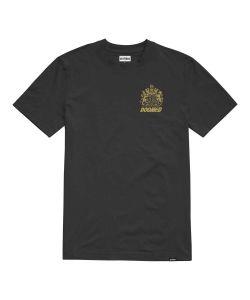 Etnies X Doomed Crest Black Men's T-Shirt