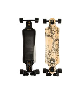 EVOLVE BAMBOO GT STREET WITH ABEC FLYWHEELS 97MM/74A ΗΛΕΚΤΡΙΚΟ LONGBOARD