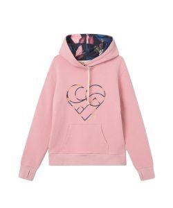 Femi Stories Tomma Hoodie Pink Γυναικείο Φούτερ Κουκούλα