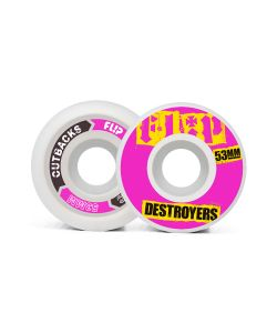 Flip Cutback Destroyers Pink 53mm 99a Ρόδες Skate