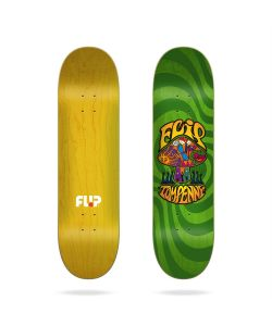 "Flip Penny Loveshroom Stained Green 8.25""  Skate Deck"