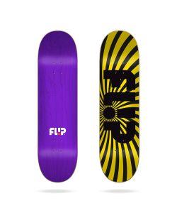 "Flip Spiral Yellow 8.25"" Σανίδα Skateboard"