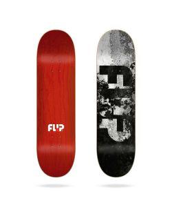 Flip Team Distortion Black 8.25 Σανίδα Skateboard