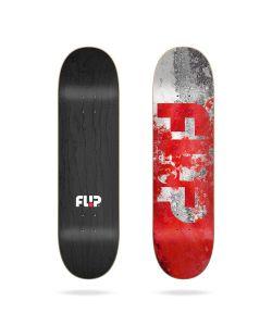 Flip Team Distortion Red 8.0 Skate Deck