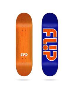 "Flip Team Outlined Blue 8.25"" Σανίδα Skateboard"