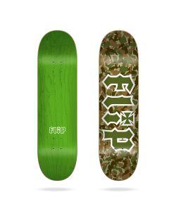 """Flip Team Outlined Green 8.25"""" Σανίδα Skateboard"""