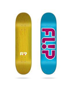 """Flip Team Outlined Light Blue 8.13"""" Σανίδα Skateboard"""