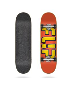 "Flip Team Outlined Orange 8.0"" Complete Skateboard"