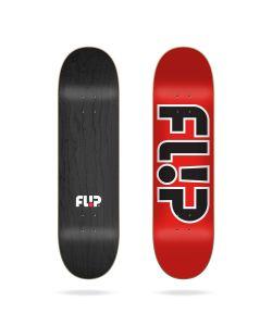 "Flip Team Outlined Red 8.0"" Σανίδα Skateboard"