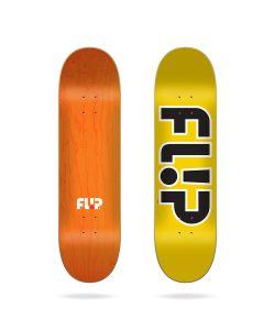 "Flip Team Outlined Yellow 8.45"" Σανίδα Skateboard"