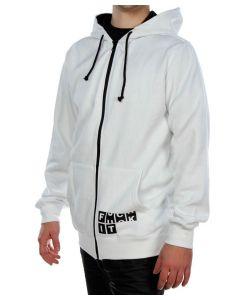 Forum F'it Basic White Men's Zip Hoodies
